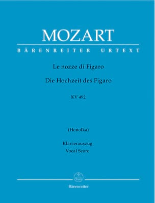 MOZART - The Nozze Di Figaro K 492 - Partition - di-arezzo.co.uk