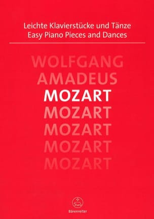 MOZART - Easy Piano Pieces and Dances - Partition - di-arezzo.ch