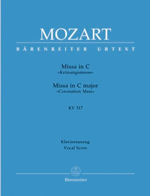 MOZART - Krönungsmesse. KV 317 - Sheet Music - di-arezzo.co.uk