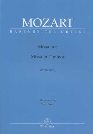 MOZART - Great Mass in C minor K 427 417a - Sheet Music - di-arezzo.co.uk
