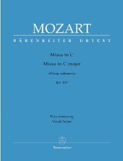 MOZART - Missa Solemnis. Do Major K 337 - Partitura - di-arezzo.es