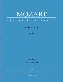 MOZART - Regina Coeli Si bémol majeur K 127 - Partition - di-arezzo.fr