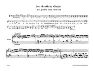 Johann Pachelbel - Gott ist unser Zuversicht - Partition - di-arezzo.fr
