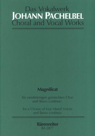 Johann Pachelbel - Magnificat Anima Mea Ré Majeur - Partition - di-arezzo.fr