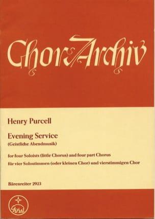 Evening Service Magnificat und Nunc dimittis laflutedepan