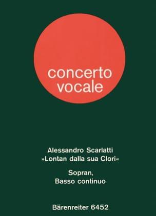 Alessandro Scarlatti - Lontan Dalla Sua Clori - Partition - di-arezzo.fr