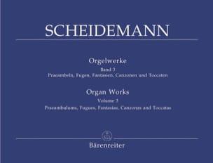 Heinrich Scheidemann - Oeuvre Pour Orgue Volume 3 - Partition - di-arezzo.fr