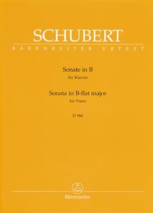 Franz Schubert - Sonate Si Bémol Majeur D 960. - Partition - di-arezzo.fr