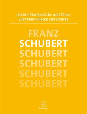 Franz Schubert - Easy Piano Pieces and Dances - Partition - di-arezzo.fr