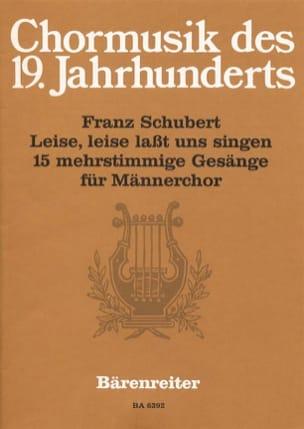 Franz Schubert - Leise, Leise Lasst Uns Singen - Partition - di-arezzo.fr