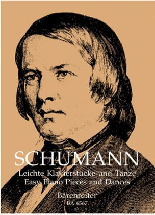 SCHUMANN - Easy piano pieces and dances - Sheet Music - di-arezzo.co.uk