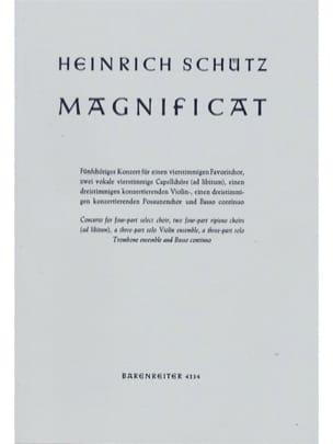 Heinrich Schütz - Magnificat Für 2 Instrumentalchöre Swv 468 - Partition - di-arezzo.fr