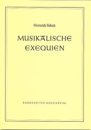 Heinrich Schütz - Musikalische Exequien für gemischten Chor und Basso continuo - Partition - di-arezzo.fr