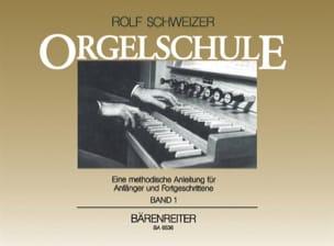 Rolf Schweizer - Méthode D'orgue - Partition - di-arezzo.fr
