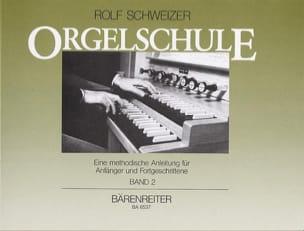 Rolf Schweizer - Volume 2 Organ Method - Sheet Music - di-arezzo.com