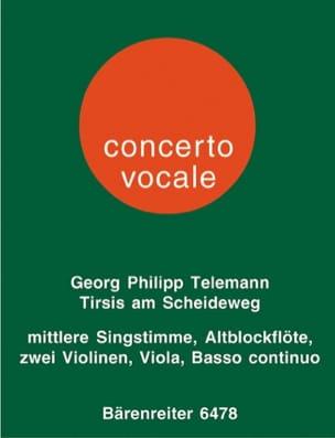 Georg Philipp Telemann - Tirsis am Scheidewege - Partition - di-arezzo.fr