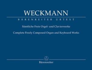 Matthias Weckmann - Sämtliche Freie Orgel- und Clavierwerke. - Partition - di-arezzo.fr