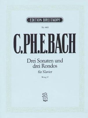 3 Sonates et 3 Rondos Wq 57 - laflutedepan.com