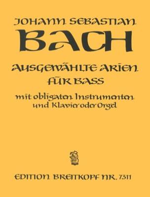 Jean-Sébastien Bach - Airs de Cantates Basse - Partition - di-arezzo.fr