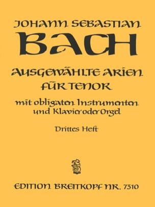 BACH - Tunes of Tenor Cantatas Volume 3 - Sheet Music - di-arezzo.com