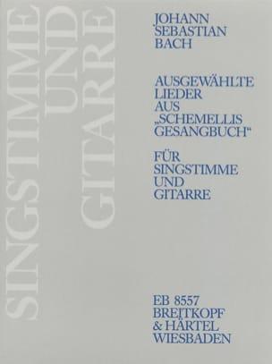 Jean-Sébastien Bach - Ausgewählte Lieder aus Schemellis Gesangbuch - Partition - di-arezzo.fr