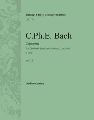 Concerto Pour Clavier En Ré Mineur Wq 23 - laflutedepan.com