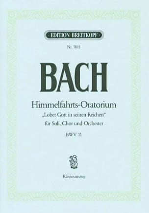 BACH - Cantate 11 Lobet Gott In Seinen Reichen - Partition - di-arezzo.fr