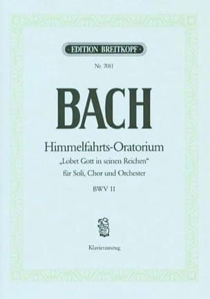 BACH - Cantate 11 Lobet Gott In Seinen Reichen - Noten - di-arezzo.de
