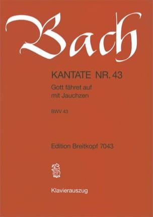BACH - Cantate 43 Gott Fahret Auf Mit Jauchzen - Noten - di-arezzo.de