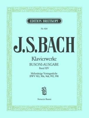 Bach Jean-Sébastien / Busoni Ferruccio - Oeuvre Pour Clavier Volume 14 - Partition - di-arezzo.fr