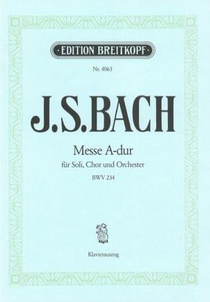 BACH - Messe A-dur BWV 234 - Partition - di-arezzo.fr