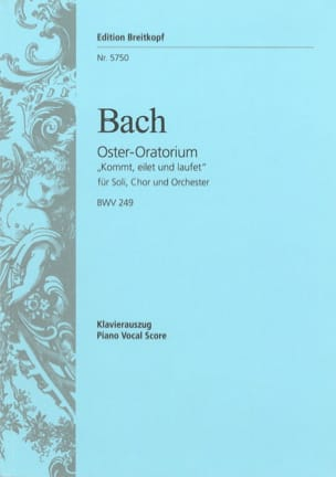 BACH - Oster-Oratorium - BWV 249 - Sheet Music - di-arezzo.co.uk