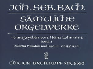 BACH - Sämtliche Orgelwerke Volume 2 - Sheet Music - di-arezzo.co.uk