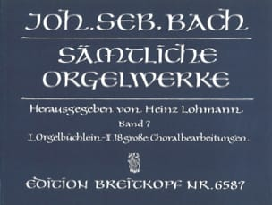 BACH - Sämtliche Orgelwerke. Volume 7 - Sheet Music - di-arezzo.co.uk