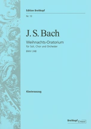 BACH - Weihnachts-Oratorium BWV 248 - Sheet Music - di-arezzo.co.uk