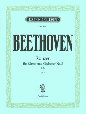 Ludwig van Beethoven - Concerto Pour Piano N°2 Opus 19 En Si Bémol Majeur - Partition - di-arezzo.fr
