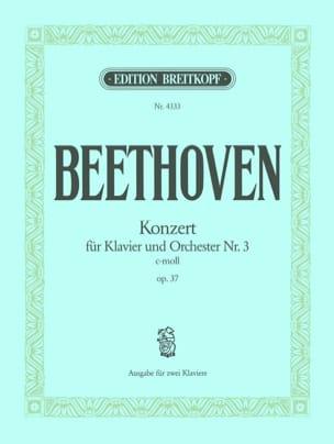BEETHOVEN - Concerto pour Piano N° 3 Opus 37 En Do Mineur - Partition - di-arezzo.fr