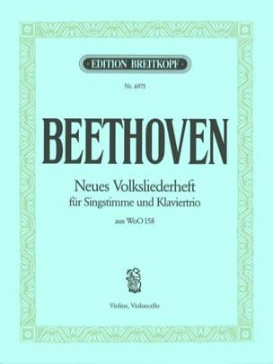 Ludwig van Beethoven - Lieder Verschiedener Völker (Matériel) Woo 158 - Partition - di-arezzo.fr