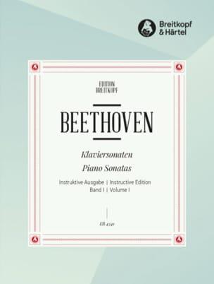 Sonates pour Piano - Volume 1 - BEETHOVEN - laflutedepan.com