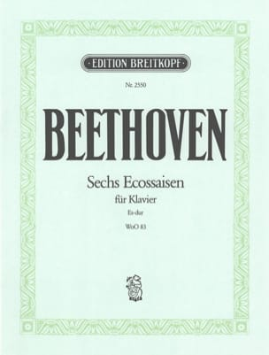 Ludwig van Beethoven - 6 Ecossaisen Woo 83 - Partition - di-arezzo.fr