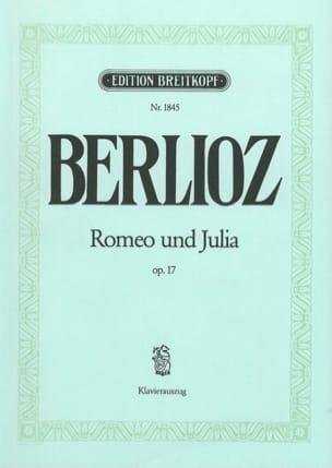 BERLIOZ - Romeo and Juliet Opus 17 - Sheet Music - di-arezzo.co.uk