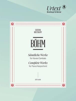 Georg Boehm - Sämtliche Werke für Klavier - Partition - di-arezzo.fr