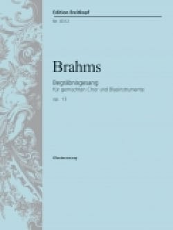 BRAHMS - Begräbnisgesang Opus 13 - Partition - di-arezzo.fr