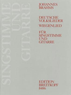 Johannes Brahms - Deutsche Volkslieder Woo 33 et Op. 49-4 - Partition - di-arezzo.fr