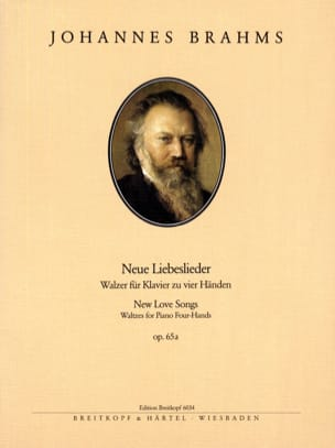 BRAHMS - Neue Liebeslieder Opus 65a. 4 Mains - Partition - di-arezzo.fr