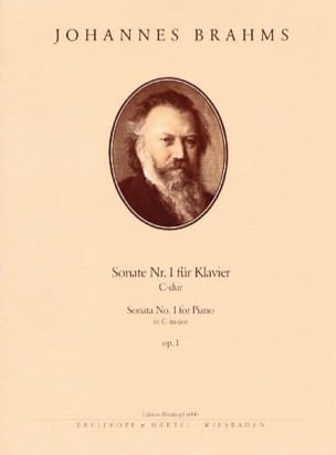 Johannes Brahms - Sonate pour piano n° 1 Opus 1 - Partition - di-arezzo.fr