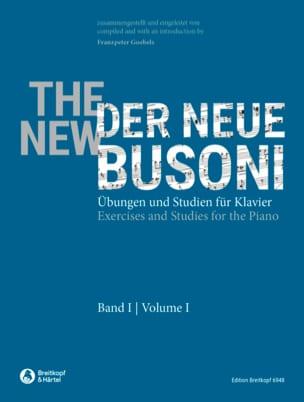 Ferruccio Busoni - Der Neue Busoni, Heft 1 - Partition - di-arezzo.fr