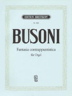 Ferruccio Busoni - Fantasia Contrappuntistica - Partition - di-arezzo.fr