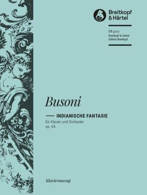 Indianische Fantasie Op. 44. 2 Pianos - Busoni - laflutedepan.com