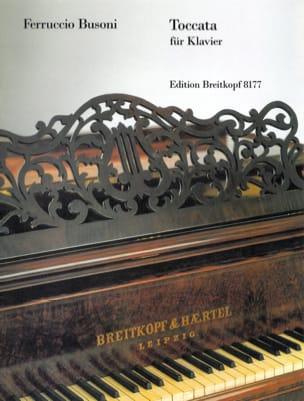 Toccata Ferruccio Busoni Partition Piano - laflutedepan